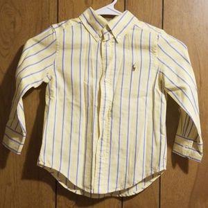 Ralph Lauren Shirts & Tops - 3t boys button down